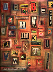 Nancy's Alphabet Challenge Collage