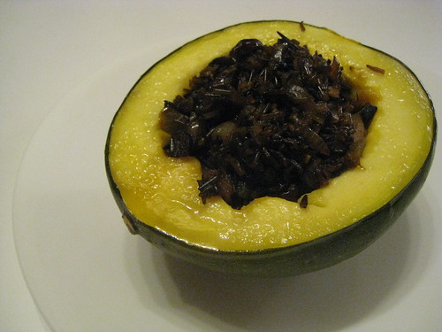 Acorn Squash with Harvest Rice Stuffing