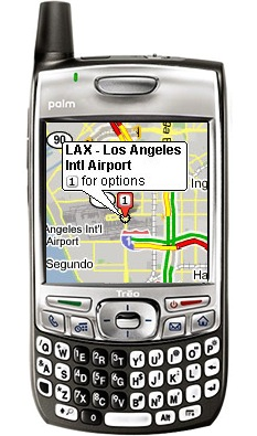 Google maps on your Treo!