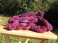 Plum Punch Yarn
