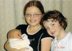 Ceinwen,Naomi, and Erin - October 2006