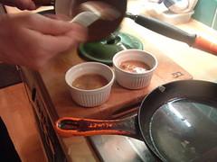 Eggs en concotte, with gravy 3