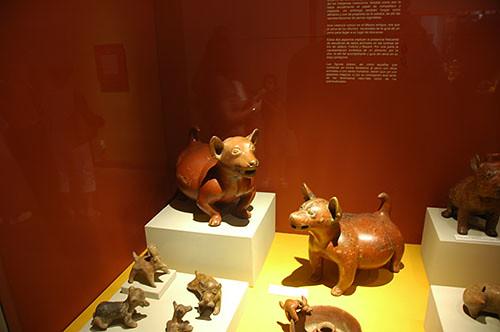 Guadaljara - 05  - Colima Dogs in Museum
