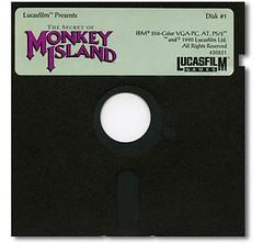 Monkey Island Floppy Disk