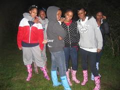 Girls in the hood, I mean girls in the field