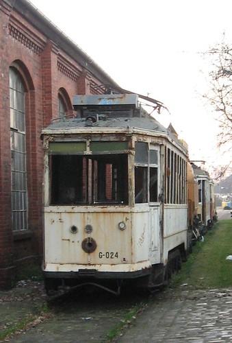 Stary tramwaj (oryginał)