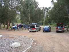 the campsite @ woods reserve