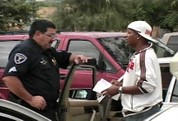 Black rapper Arizona Police