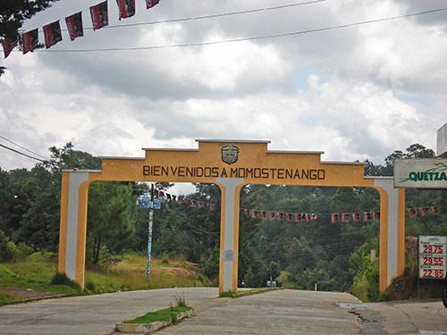 Momostenango - 01 Entering Momo