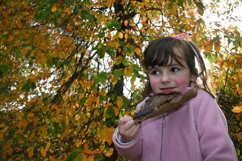 Kate in Autumn