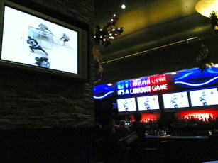 Flickr: Catching the Canucks at the Shark Club