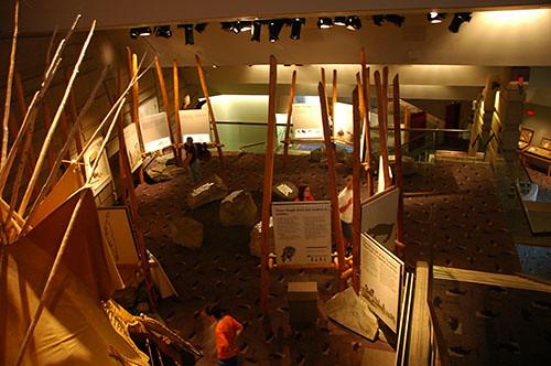 Buffalo Jump - Museum Overlook