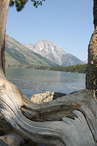 Grand Teton - Jenny Lake and Rockchuck Peak