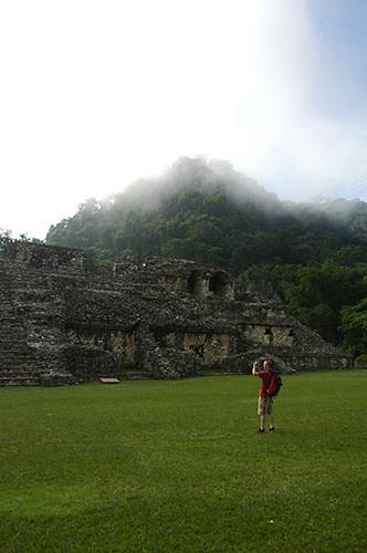 Palenque - 05 Misty Palenque