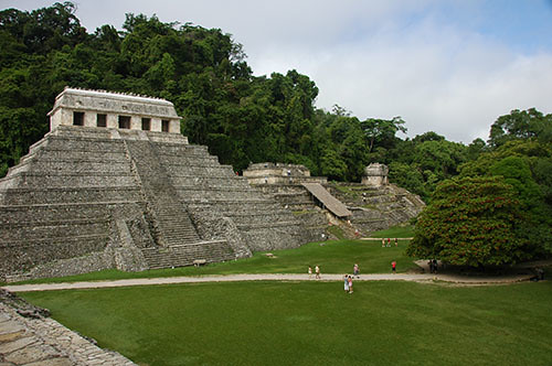 Palenque - 08 Temple of Inscriptions