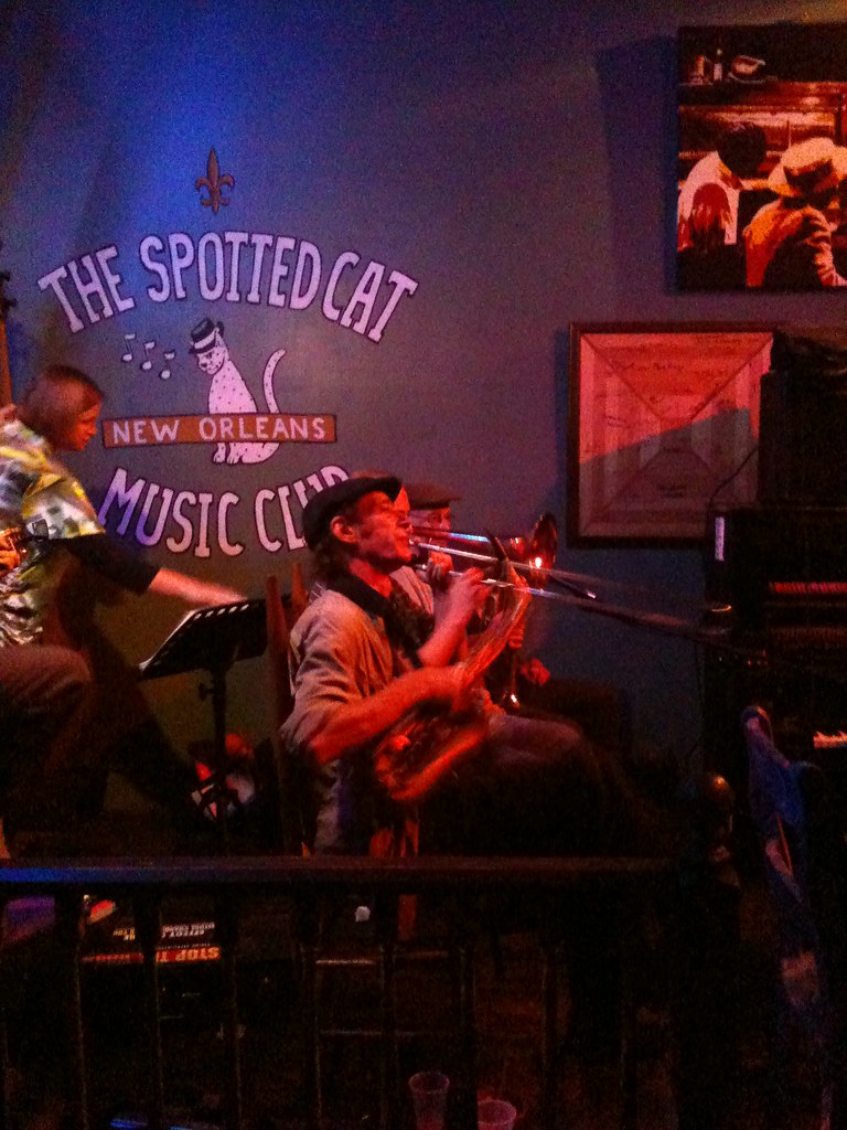 Jazz Vipers live at The Spotted Cat, New Orleans