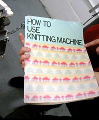 How to Use Knitting Machine (by Brian Sawyer)