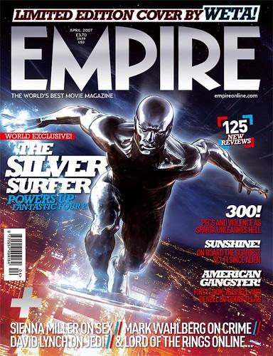 Emipre's Silver Surfer Cover