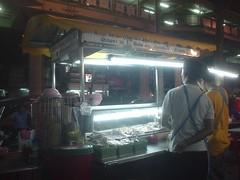 58.BTS Sala Daeng站下面的攤販