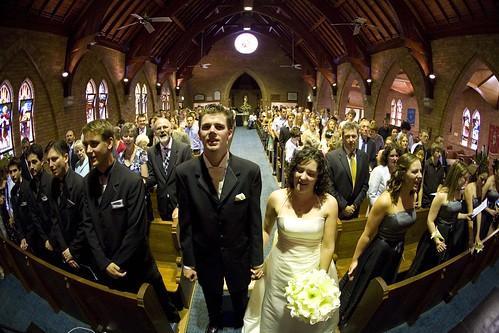 Fishy wedding