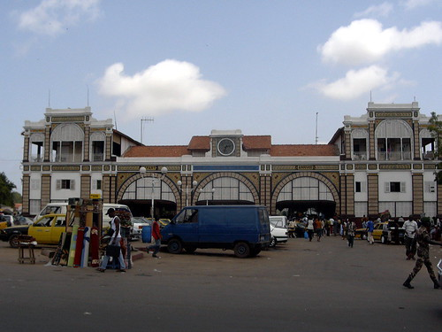 Estación de tren de Dakar