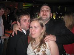 Chris, Linn & Kevin på Charlies vid tvåtiden