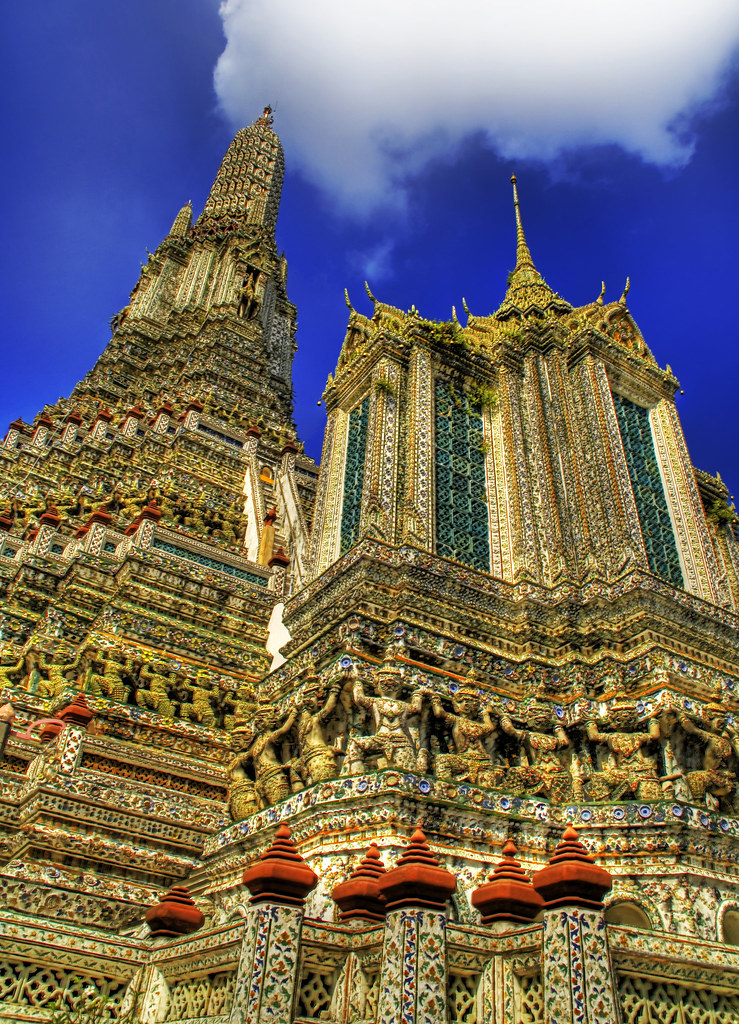 The Spires of Wat Arun
