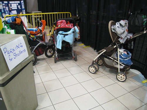 Parking for Strollers