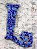 Mosaic letter L