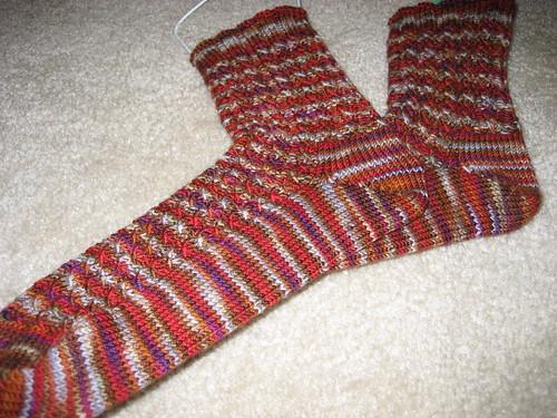 Finished RR socks