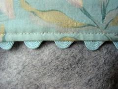 Detail of wool box