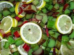 Rarbarbesaft / I´m making some lemonade!