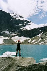 Morraine lake, Mount Aspiring National Park