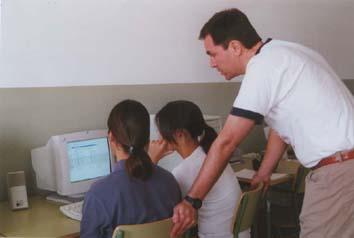 Professor amb alumnes