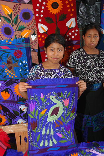 Zinacantan - 16 Traditional weave