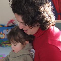 35/365:  Reading with Mama (by sarahmichelef)