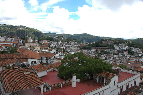Taxco - 09 Rooftops in the Sun