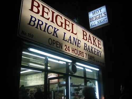 Beigels on Brick Lane