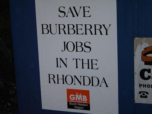 Keep Burberry British