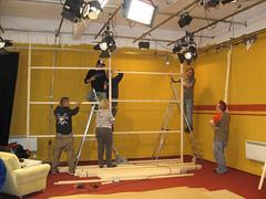 Das Fernseh-Studio von Doschauher.tv in Deggendorf