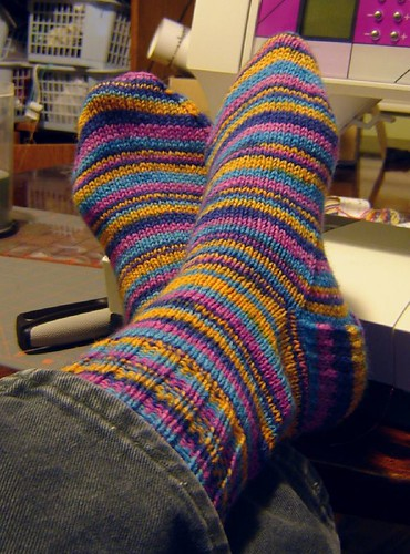 cozy toes (colourful, too!)
