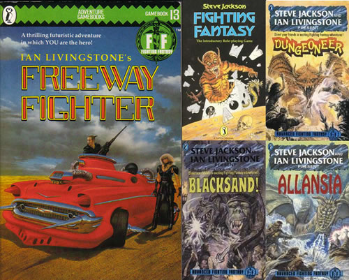 Fighting Fantasy game books