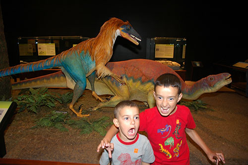 Museum of the Rockies - Deinonychus Roars