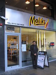 Maliks outside