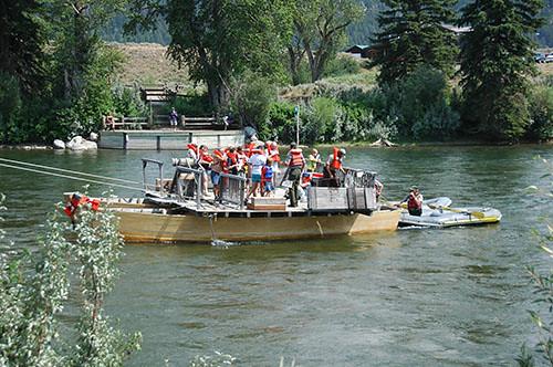 Grand Teton - People Stuck on Menor Ferry