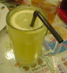 62.翠華茶餐廳:凍桔檸蜜