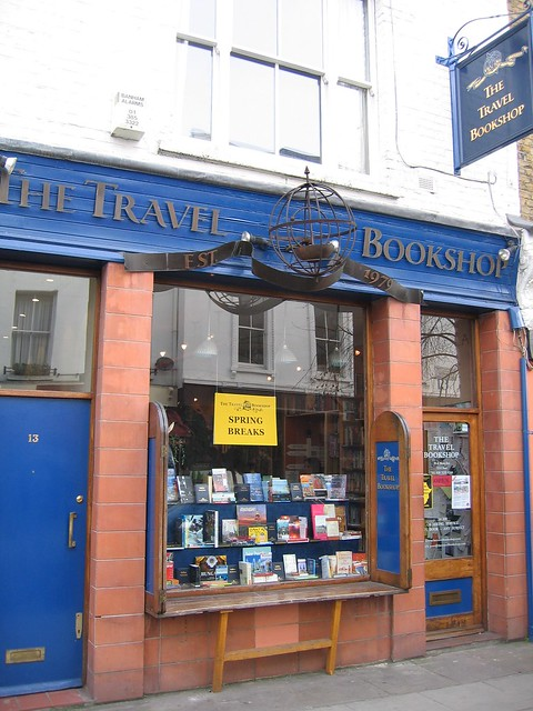 The Travel Bookshop - Notting Hill, London