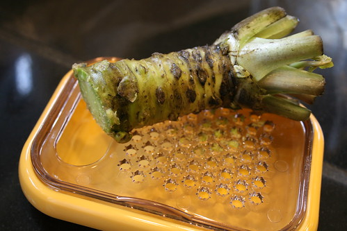 fresh wasabi root!