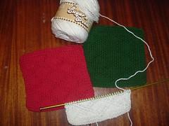 Holiday dish cloths