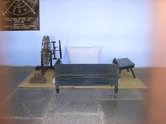 Habitación de Ghandi.